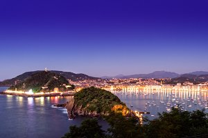 San Sebastian. Basque country. Spain