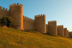 Avila. Spain. Scenic medieval city