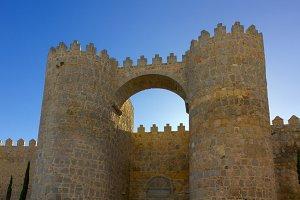 Avila, Spain. Scenic medieval city