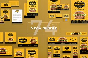 Mega Bundle | Burger House