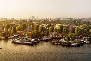 Amsterdam panoramic