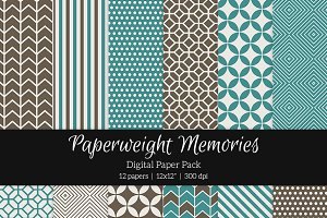 Patterned Paper - By the Sea