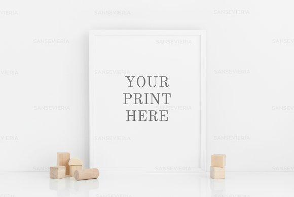 Download Nursery 8x10 Print Mockup 16x20 4:5