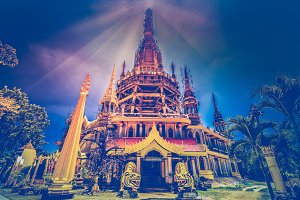 Tiger Cave Temple Wat Tham Sua. Thailand, Krabi
