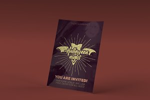 Halloween Night PSD Flyer