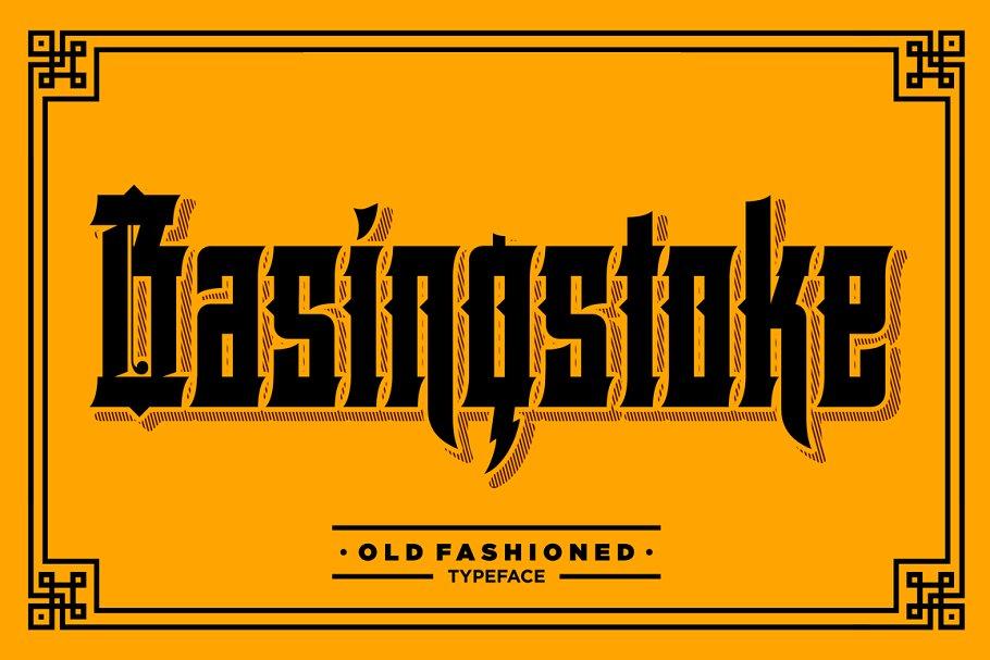 Basingstoke Font