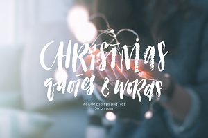 56 Christmas overlays