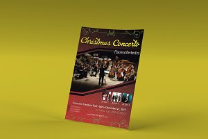 Christmas Concerto Flyer Template