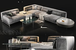 Sofa Natuzzi Ido 2994