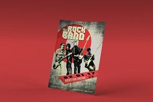 Rockband PSD Poster Template