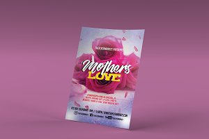 Mother's Love Flyer Template