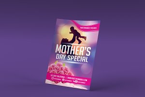 Mother's Day Special Flyer Template