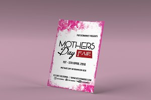 Mother's Day Fair Flyer Template