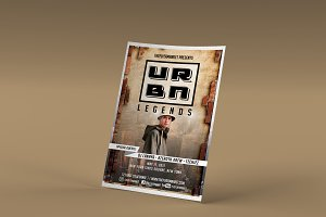 Urban Legends Flyer Template