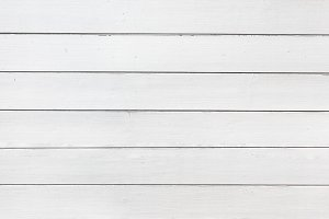 White Painted Wooden Texture