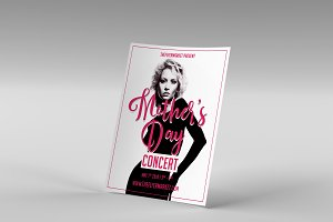 Mother's Day Concert Flyer Template