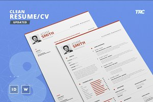 Clean Resume/Cv Template Volume 8