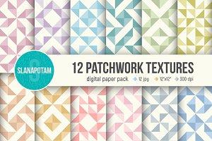 PATCHWORK digital paper pack
