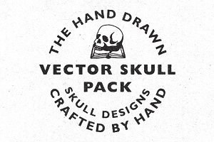 The Hand Drawn Vector Skull Pack