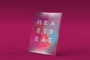 Heartbeat Party Flyer Template