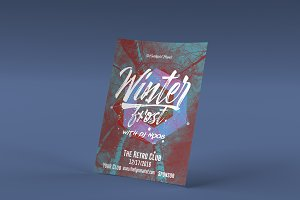 Winter Frost Flyer Template