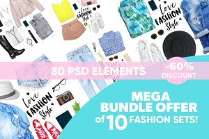 Mega Bundle Offer of 10 sets