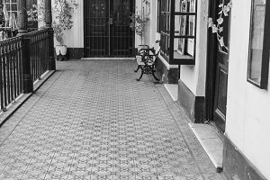 Vintage Corridor Building