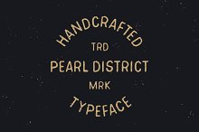 Pearl District - Hand Drawn Font