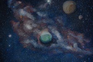 Outer Space/Night sky