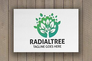 Radial Tree Logo