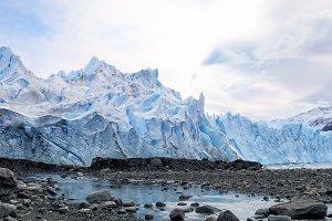 Blue glacier Perito Moreno