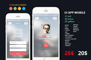 UI Mobile Creative APP