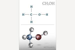 Methanol Molecule Image
