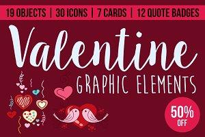 Valentine Graphic Elements