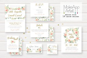 Wedding Invitation Suite - Adele