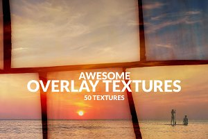 50 Awesome Overlay Textures