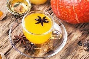 Autumnal Pumpkin Tea