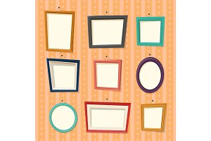 Frames for family photography or camera pictures