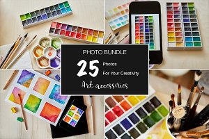 Art Accessories Photo Bundle