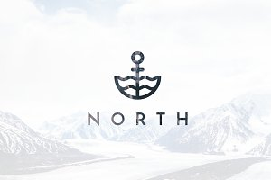 North Logo Template