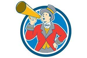 Circus Ringmaster Bullhorn Circle Ca