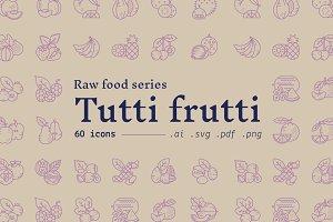 Tutti Frutti / food icons