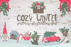 Cozy Winter. Big collection