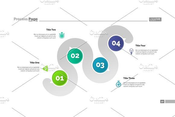 Four Point Plan Slide Template Textures