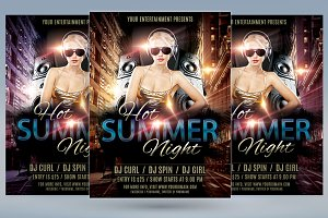 Hot Summer Night Flyer