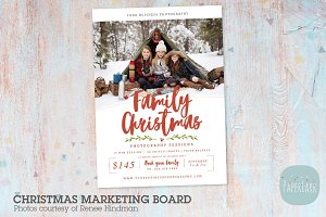 IC052 Christmas Marketing Board