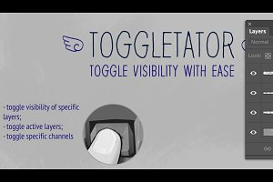 Toggletator! For Photoshop CS6-C2018
