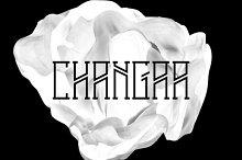 Changaa - font