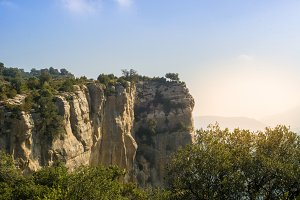 landscape in catalonia, spain