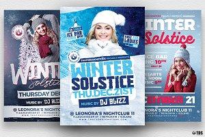 Winter Solstice Flyer Bundle
